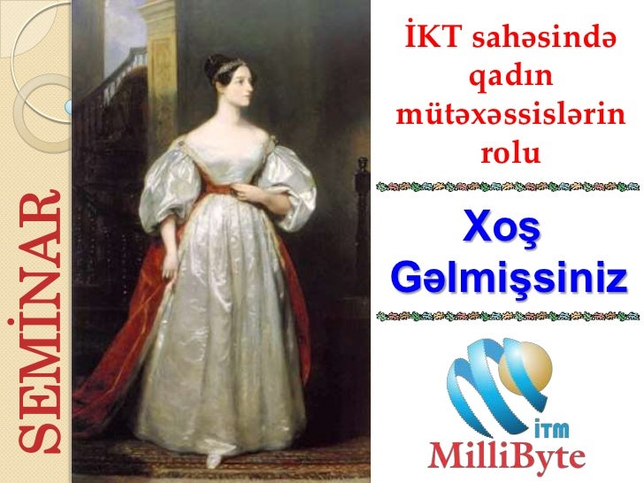 Ikt sahəsində qadın mütəxəssislərin rolu   seminar (26.02.2012)