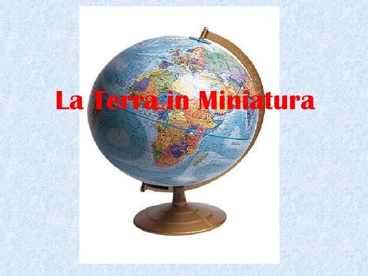 Il mondo-in-miniatura
