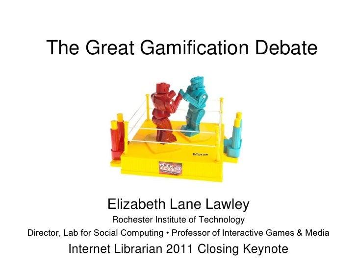Internet Librarian 2011 Closing Keynote