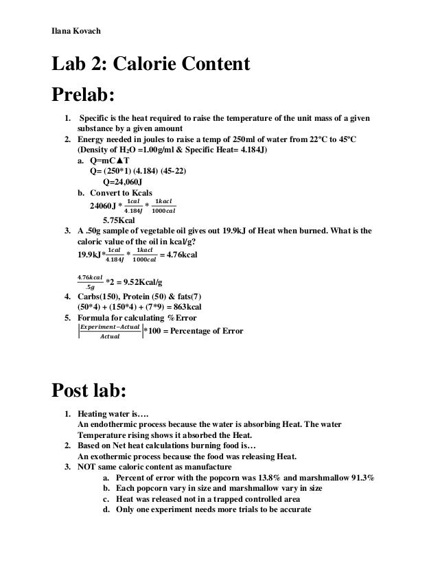heat of reaction lab Lab report - download as word 2 kj/mol while for acetic acid is 55 and the heat of reaction for each lab 10_heat of reaction for the neutralization of.