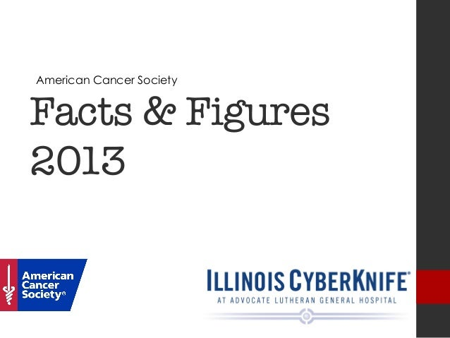 Facts & Figures2013 American Cancer Society