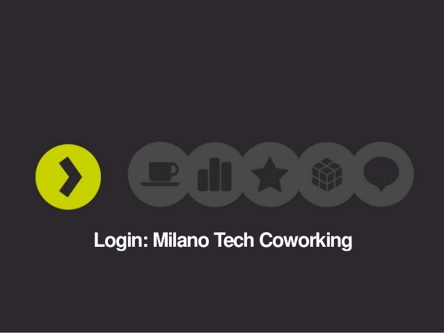 Login: Milano Tech Coworking