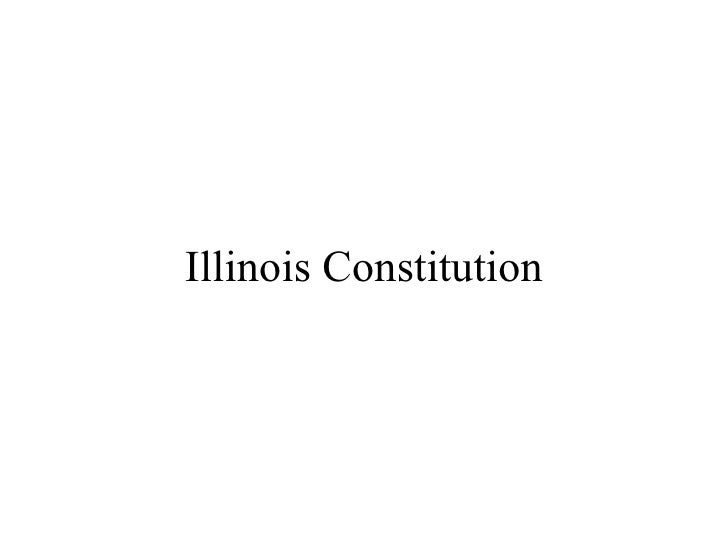 Illinois Constitution