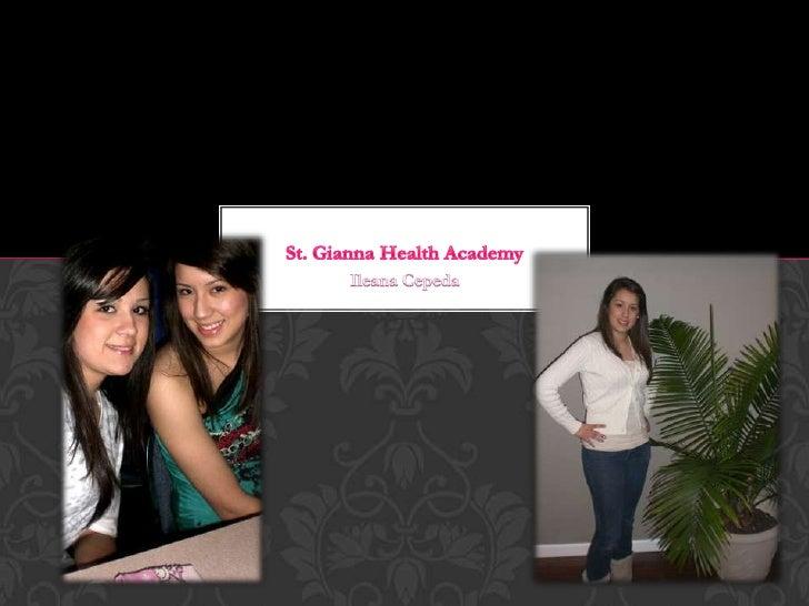 Ileana Cepeda Health Academy presentation