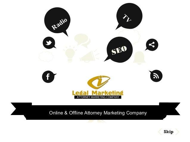 SEO Skip Online & Offline Attorney Marketing Company Radio TV