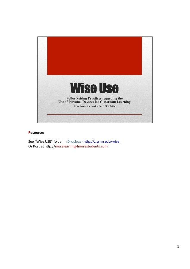 Ilene gpea pdf slides with notes 2014
