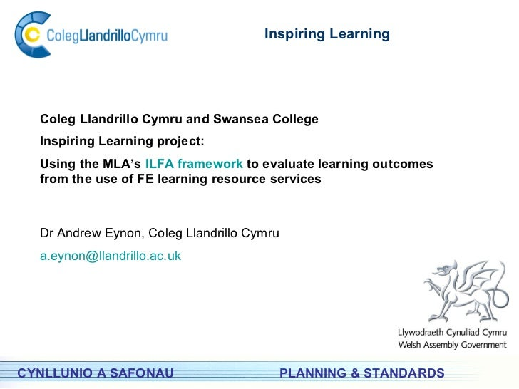 Ilfa Project   CyMAL Inspiring Learning conference