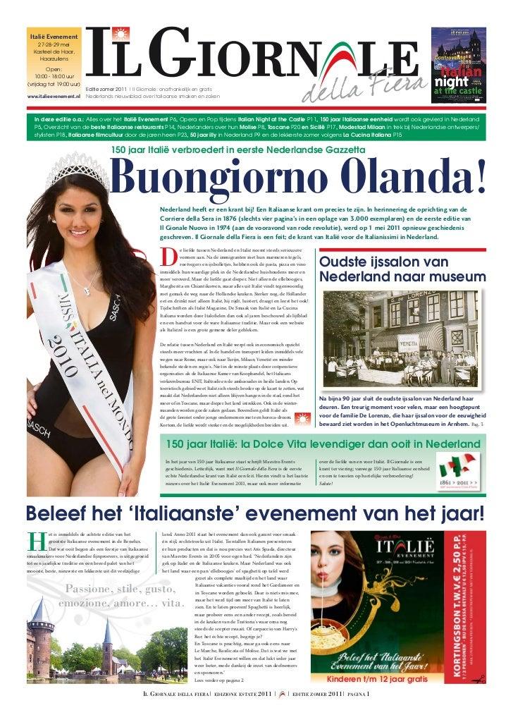 Il Giornale Della Fiera - Editie Zomer 2011