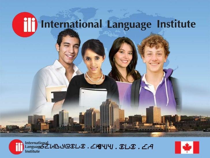 www.ili.castudy@ili.ca