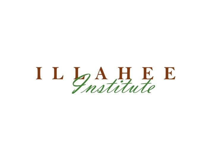 I L L A H E E   Institute