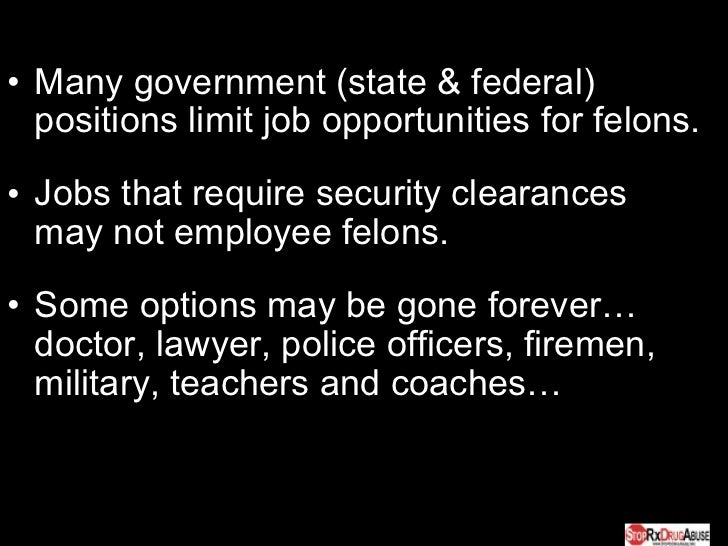Best career options for convicted felons