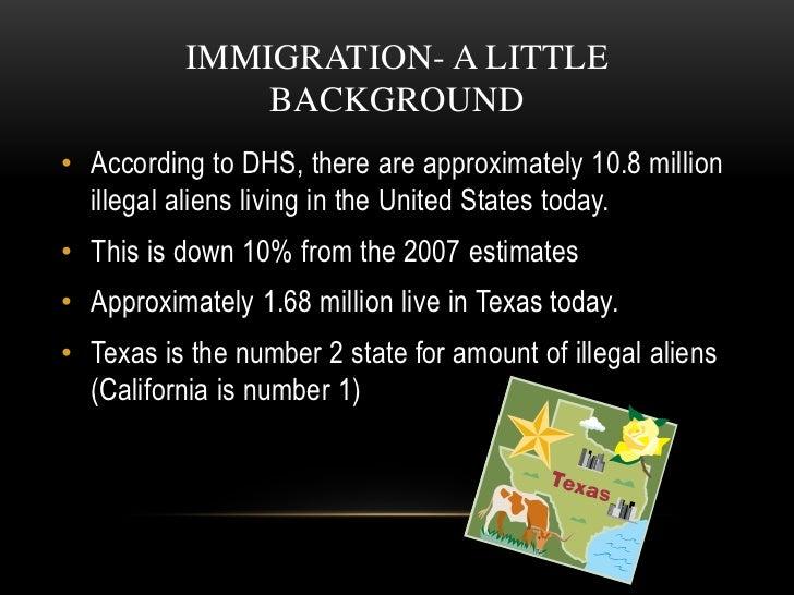 Illegal immigration essays examples esl