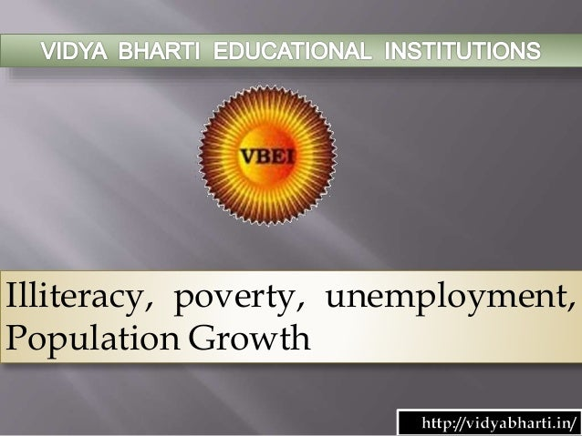 poverty illiteracy and unemployment essay Essay on poverty in india: causes, effects and solutions effects of poverty illiteracy: social issues in india (causes, effects and solutions.
