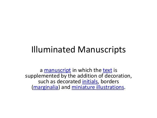 Illuminatedmanuscripts
