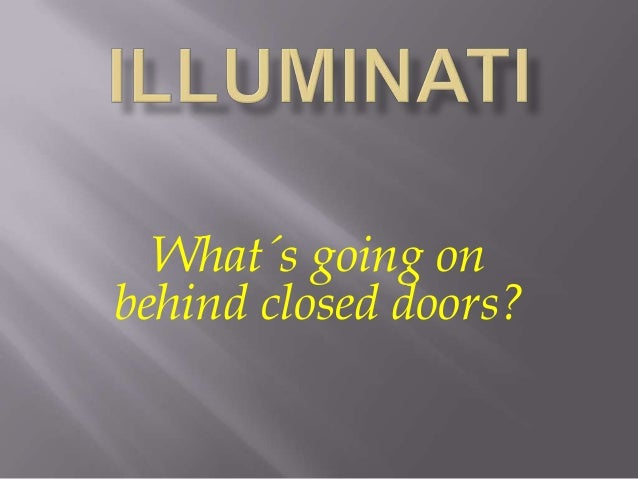 What´s going onbehind closed doors?