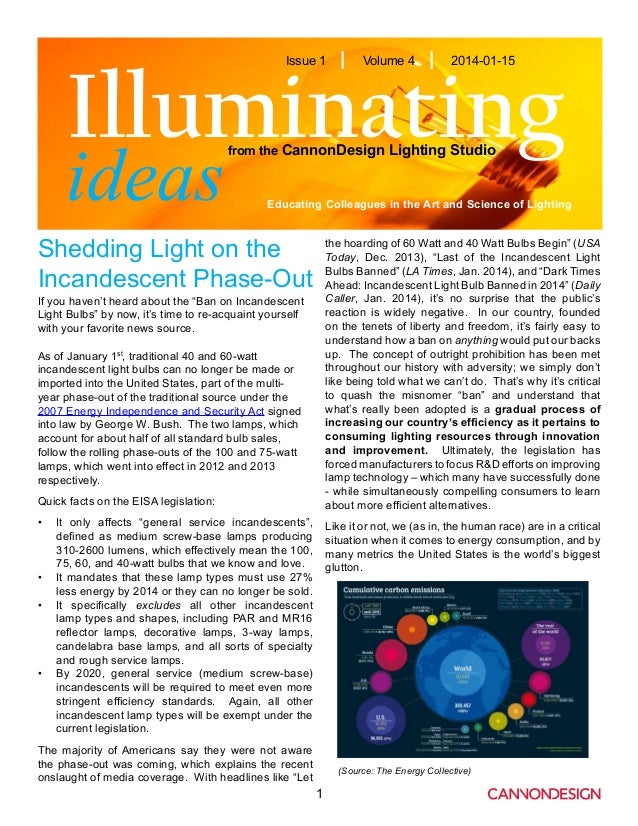 Shedding Light on the Incandescent Phase-Out