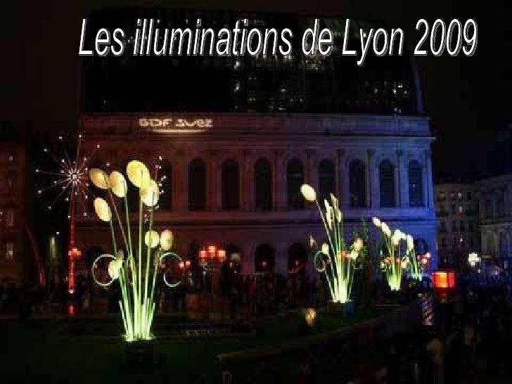 Les illuminations de Lyon 2009