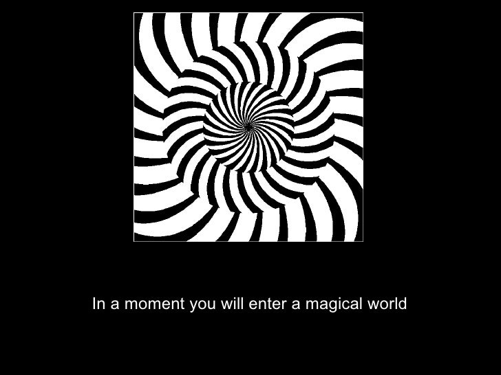 <ul><li>In a moment you will enter a magical world </li></ul>