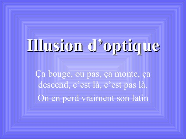 Illusion optique   copie