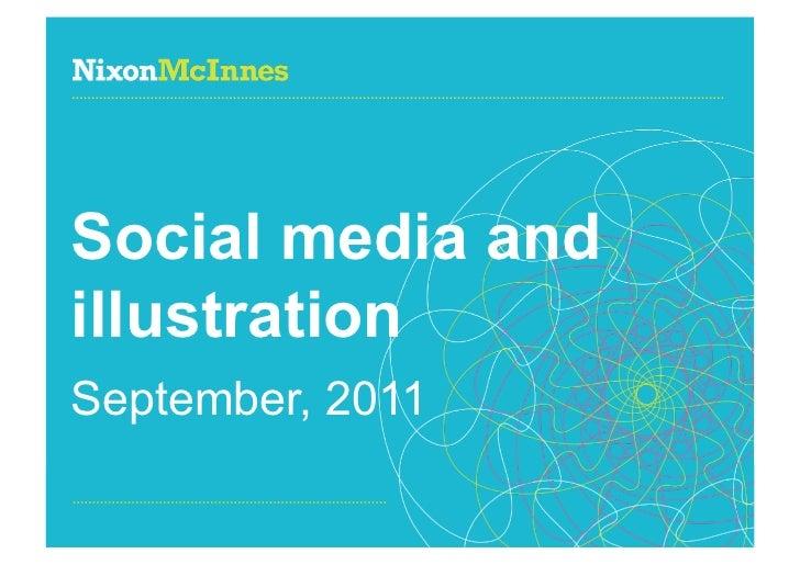 Illustration and social media