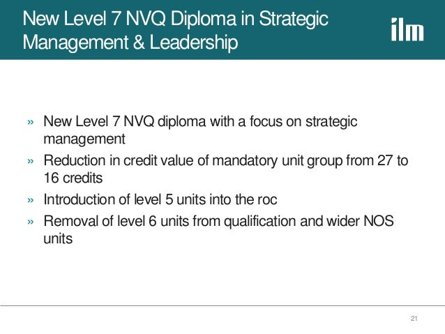 nvq level 5 leadership and management Our leadership and management courses will provide you with a firm   knowledge, and approaches required for success at a senior level, we aim to  offer you.