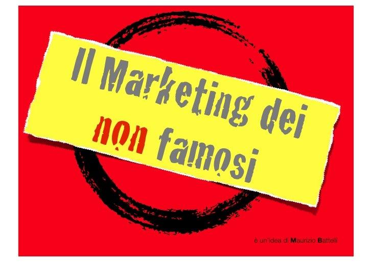 Il Marketing dei NON Famosi - Ep.1 In Spiaggia