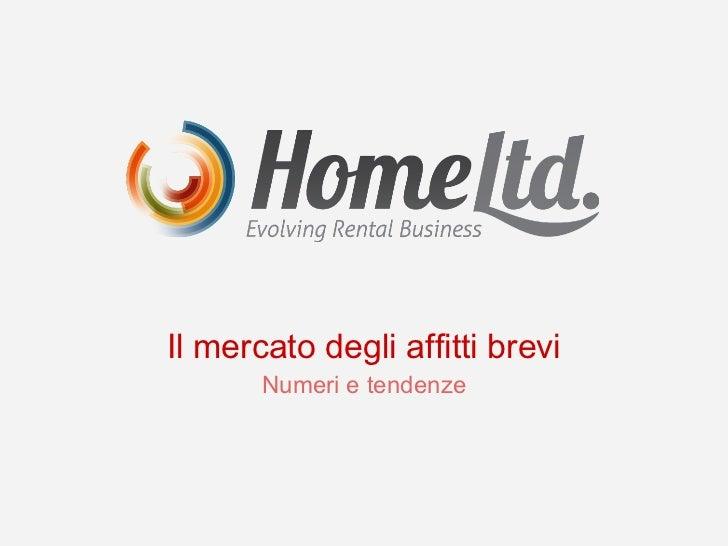 Il mercato degli affitti brevi in Italia e sul Lago di Como