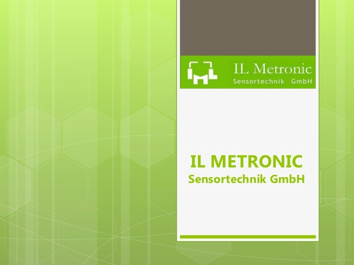 IL METRONICSensortechnik GmbH
