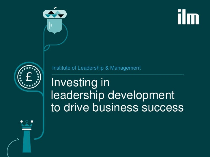 Leadership development to drive buisness success