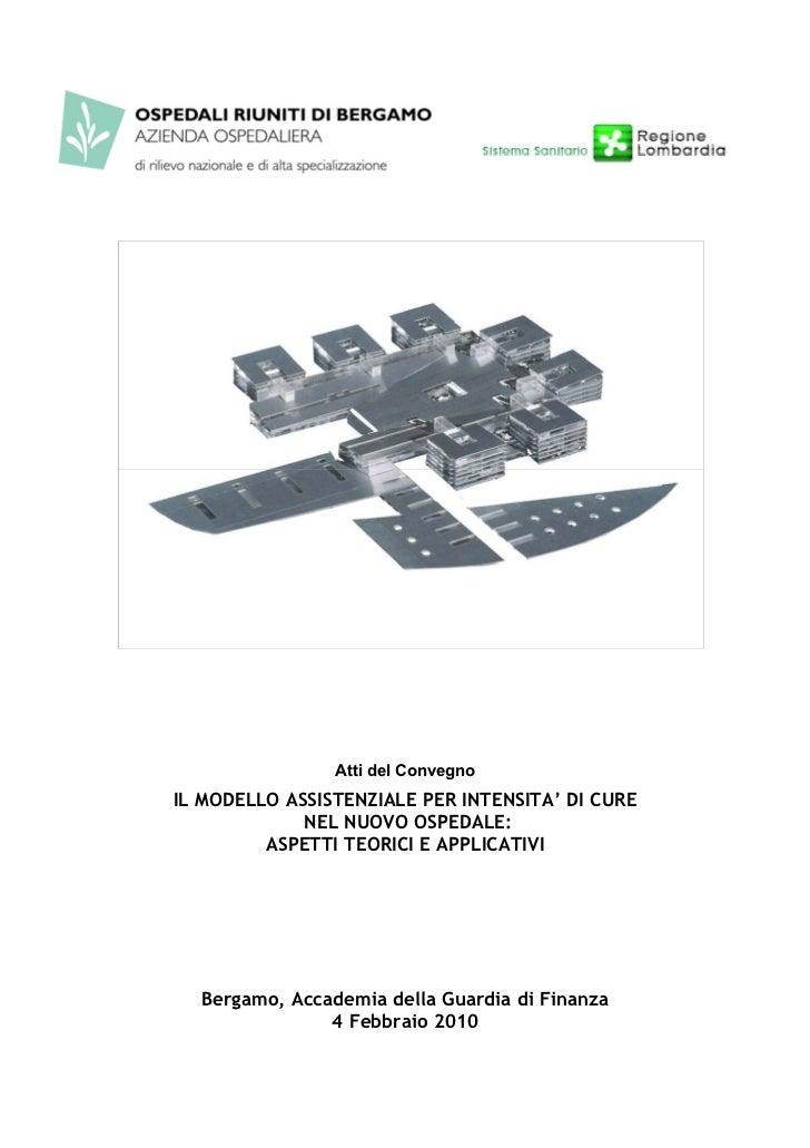 Il modello assistenziale per intensita' di cure