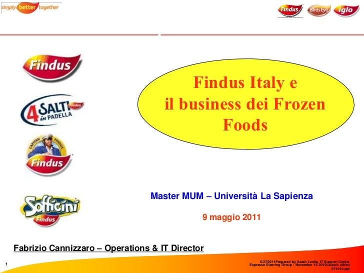 Il modern trade in italia il caso findus