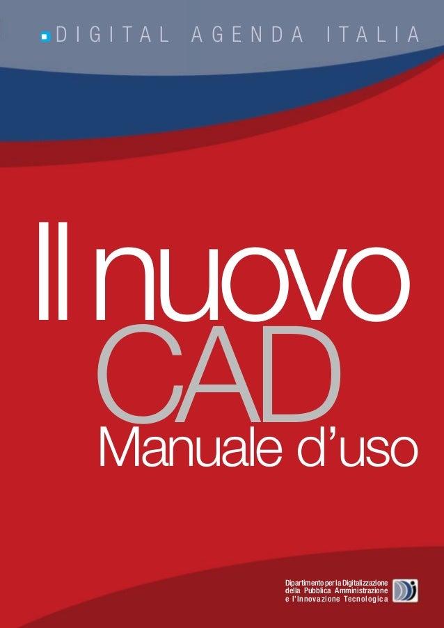 Il nuovo CAD - Manuale d'uso