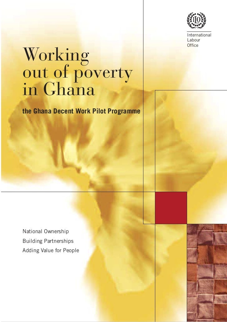 Ilo   working out of poverty