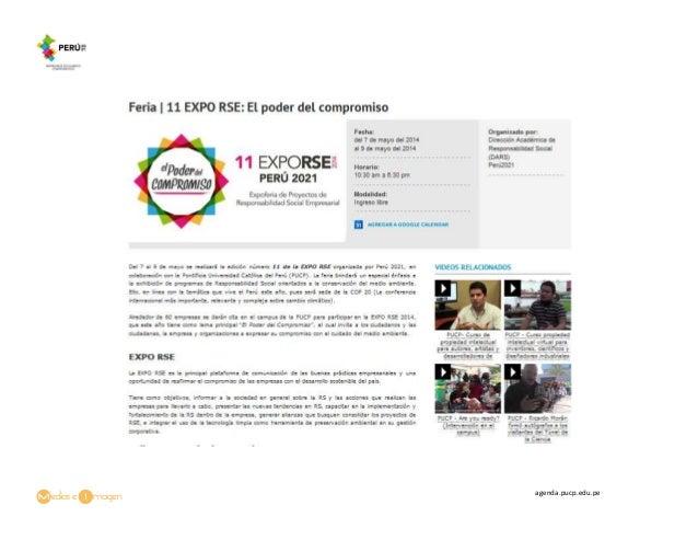 Feria | 11 EXPO RSE: El poder del compromiso