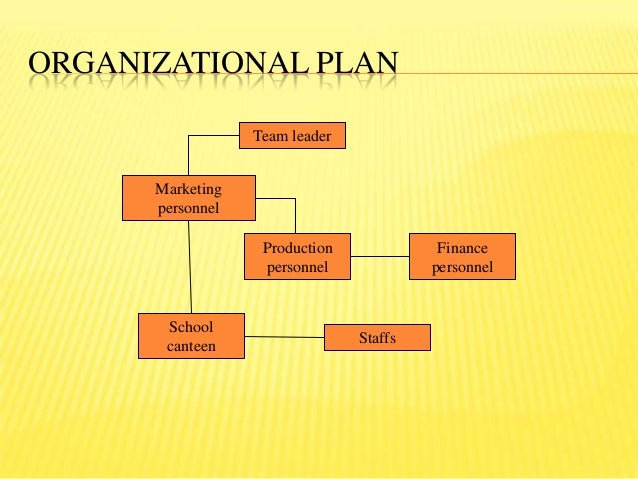 Business plan production plan