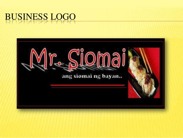 Siomai Business Proposal
