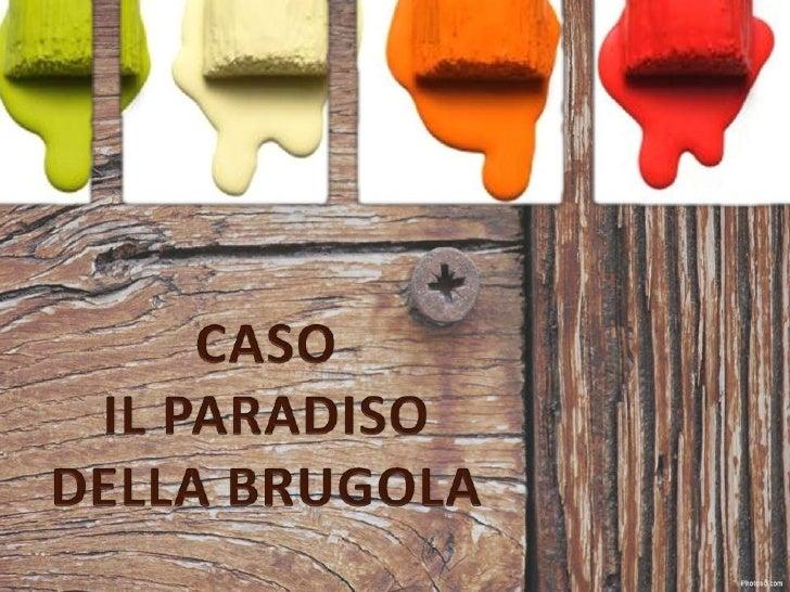 CASO <br />IL PARADISO DELLA BRUGOLA<br />