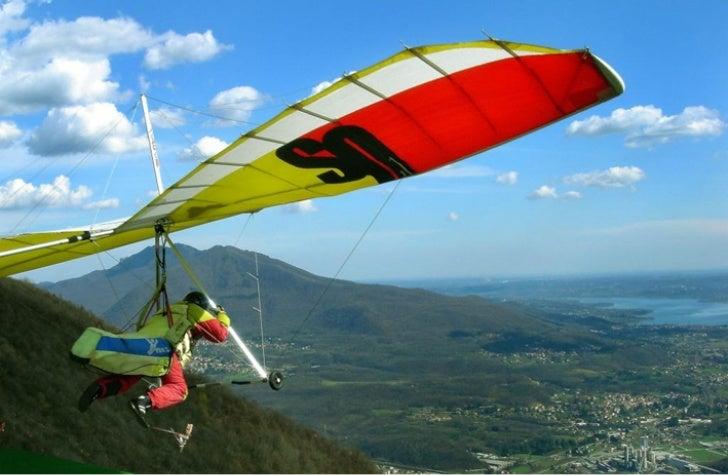 Il parapendio, uno sport praticato a Varese e in provincia