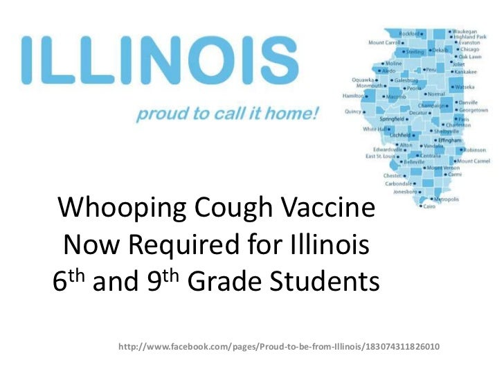 Whooping Cough Vaccine Now Required for Illinois 6th and 9th Grade Students