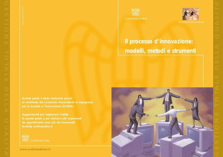 Il processo di innovazione: modelli, metodi e strumenti