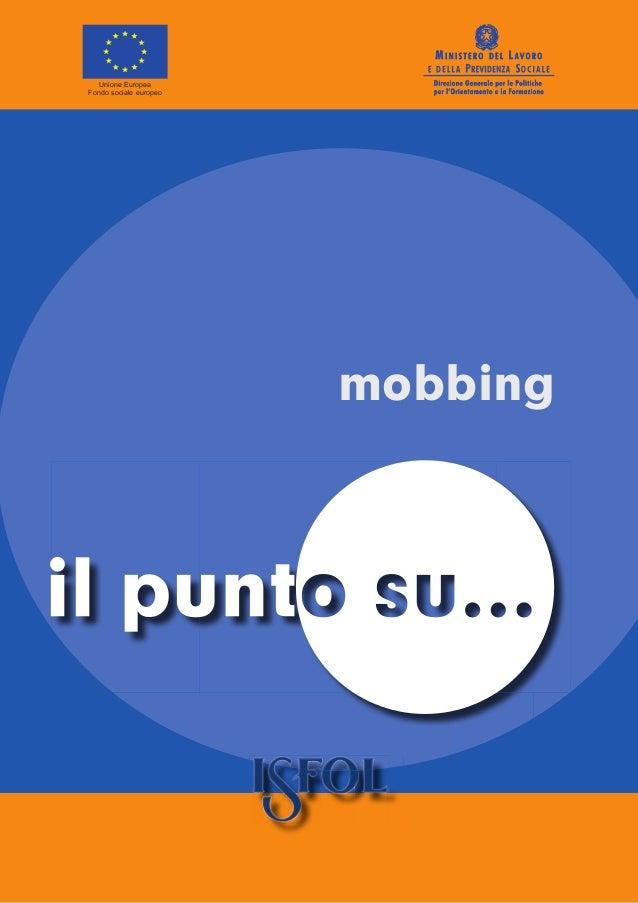 il punto su ... mobbing