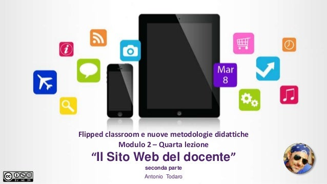 Il sito web del docente ii parte for Del website