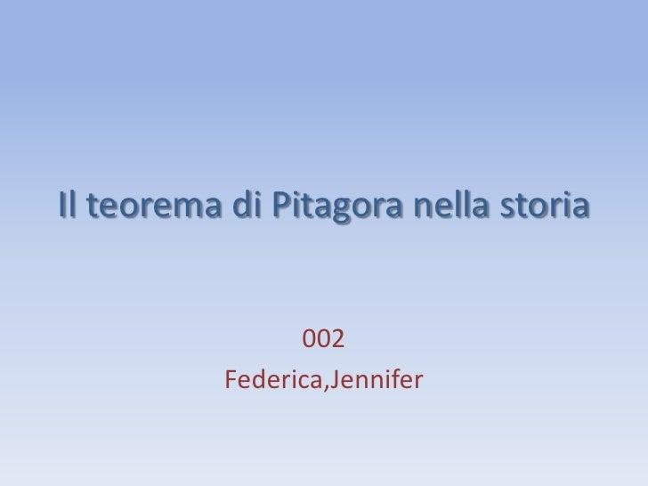 Il teorema di_pitagora_nella_storia