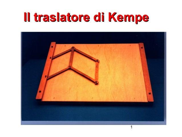 Il traslatore di Kempe  1