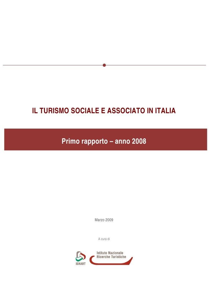 Il Turismo Sociale e Associato in Italia
