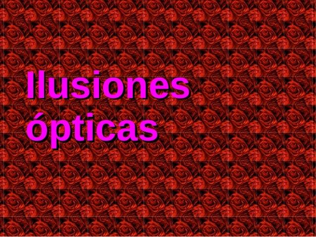 Ilusionesópticas