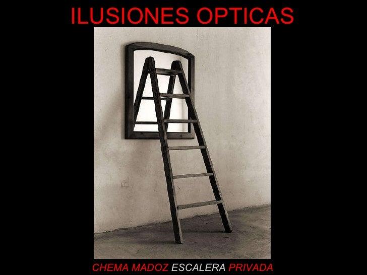 CHEMA MADOZ   ESCALERA   PRIVADA ILUSIONES OPTICAS