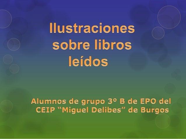 Ilustraciones sobre libros leídos