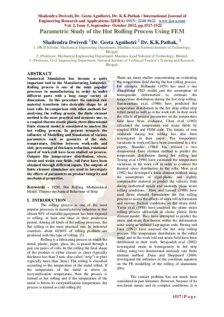 Shailendra Dwivedi, Dr. Geeta Agnihotri, Dr. K.K.Pathak / International Journal of       Engineering Research and Applicat...