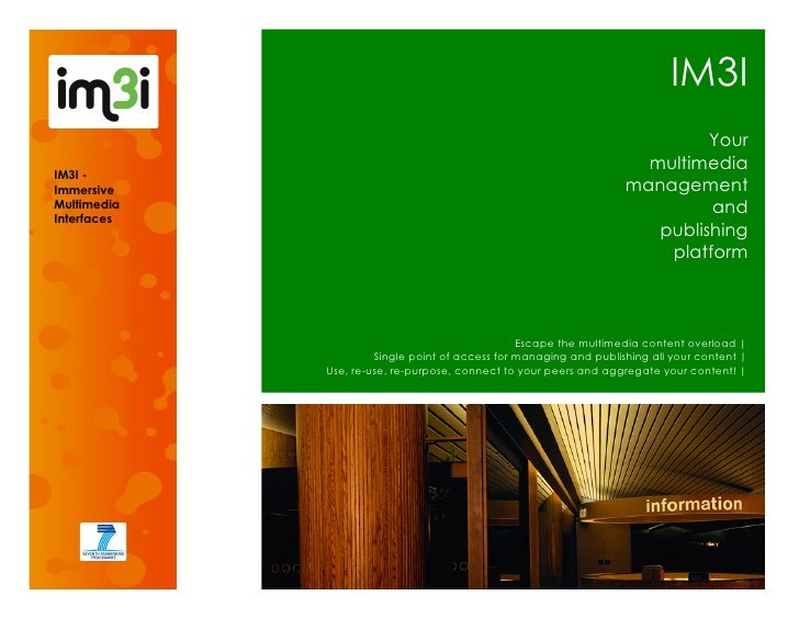 IM3I brochure